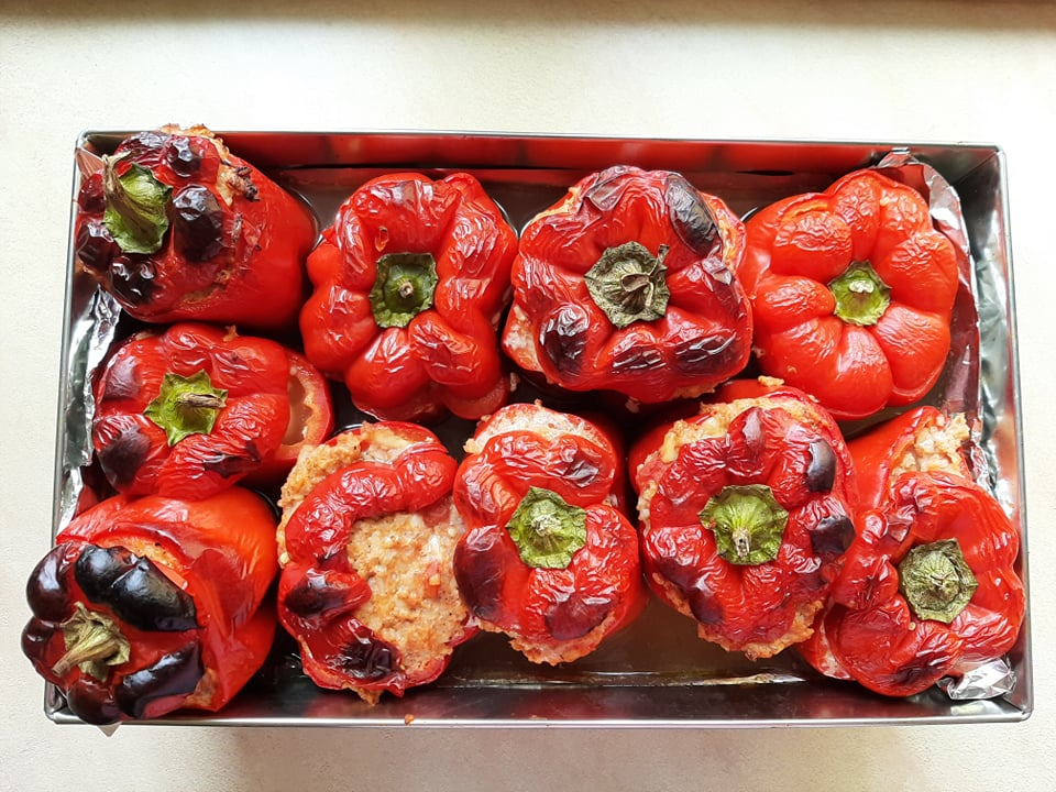 Passion Piece - Stuffed peppers